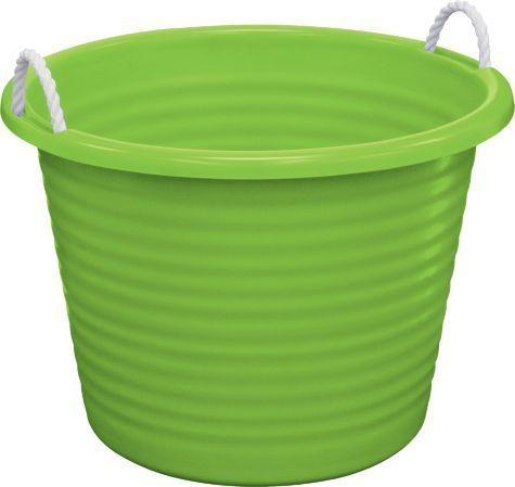 Kiwi Green Plastic Tub With Rope Handles Party City Rope Handles Tub Kids Room