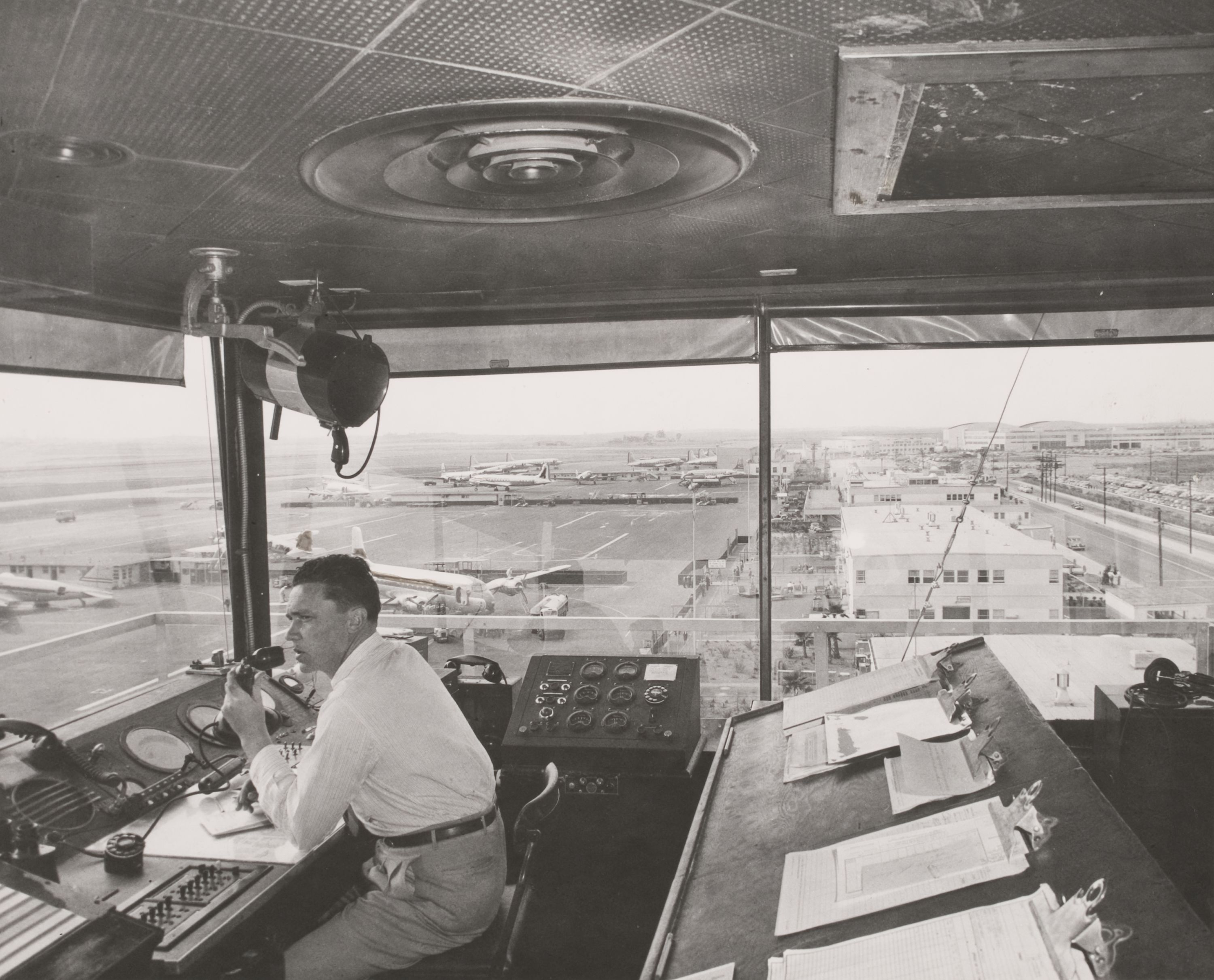 Throwback Thursday to a day in the LAX Control Tower