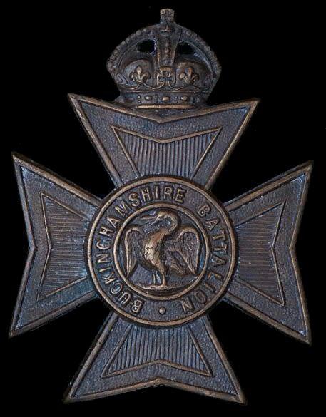 Buckinghamshire Battalion Cap Badge