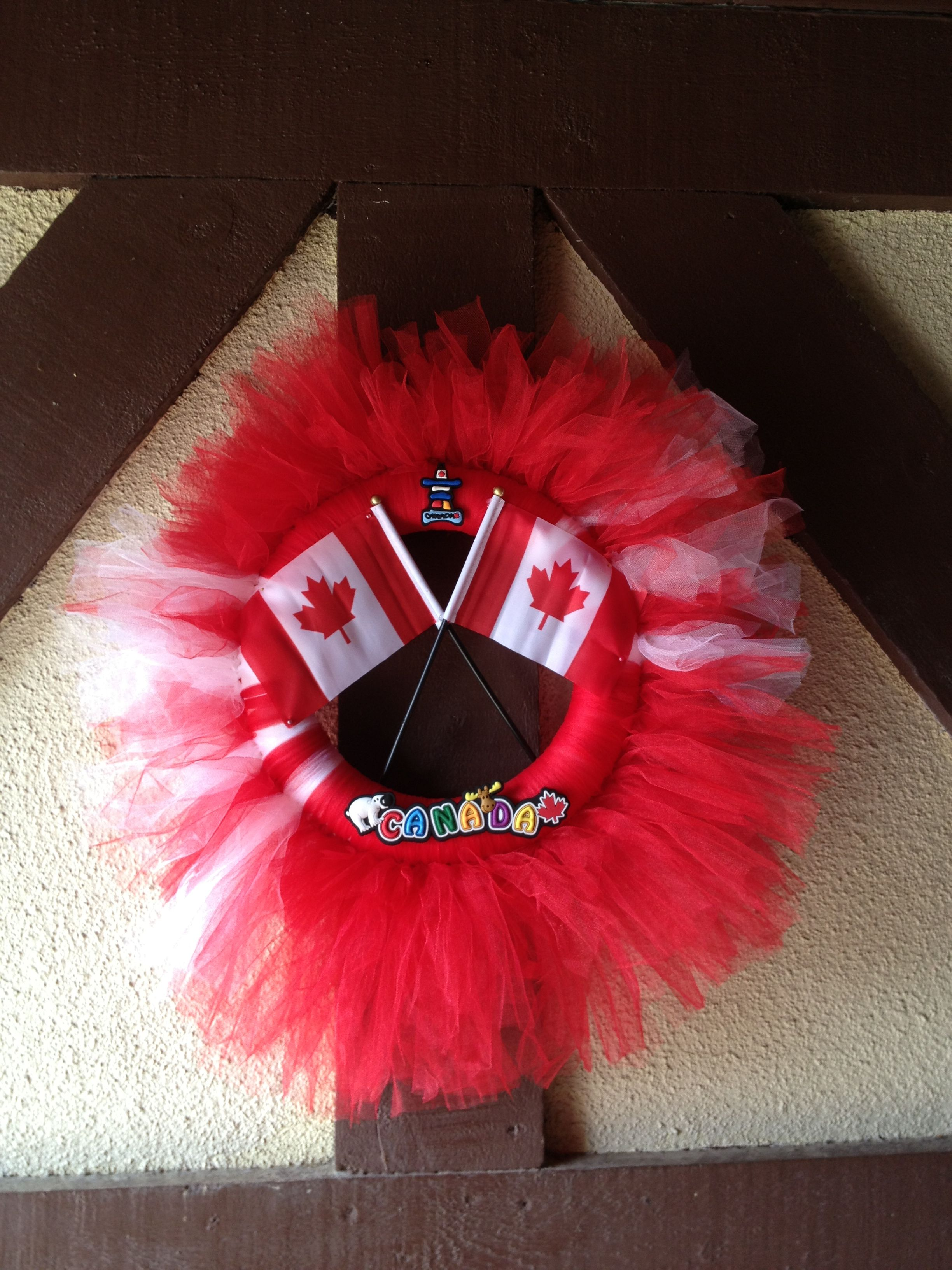 Canada Day Wreath Canada day, Cool things to buy, Wreaths