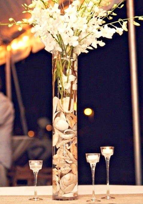 Ideas For Coastal Beach Theme Vases Beach Living Beach Wedding