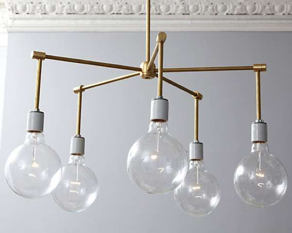 Diy gradient lighting industrial space gallery and chandeliers brass chandelier diy one kings lane new light above our kitchen table aloadofball Image collections