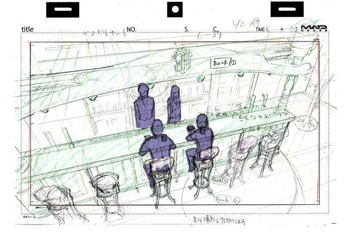 Anime Mirai animemirai Genga \ Layouts Pinterest Anime - anime storyboard