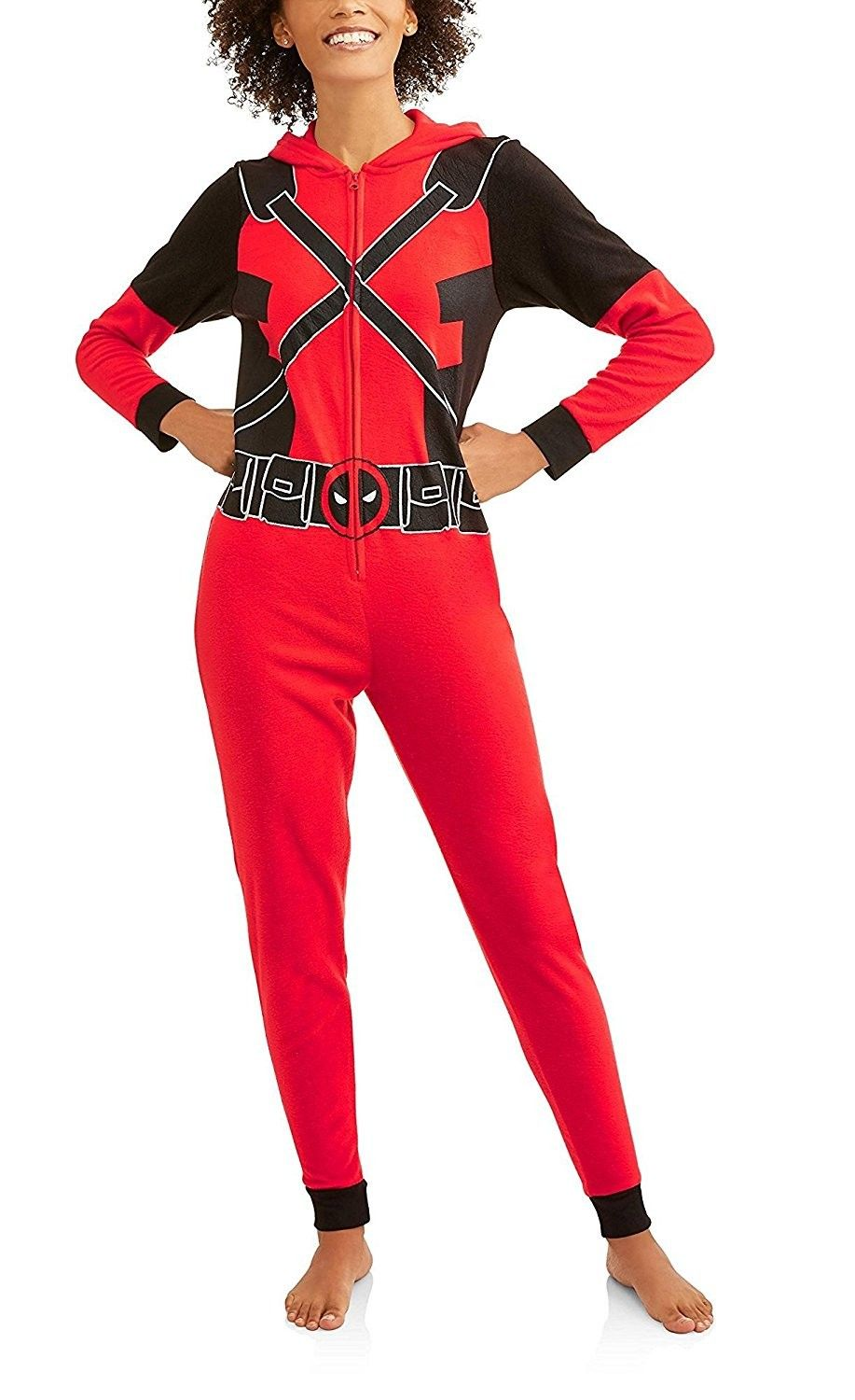 42698726d Marvel Women s Cozy Fleece Union Suit Hooded Pajamas - CW189HARAEO ...