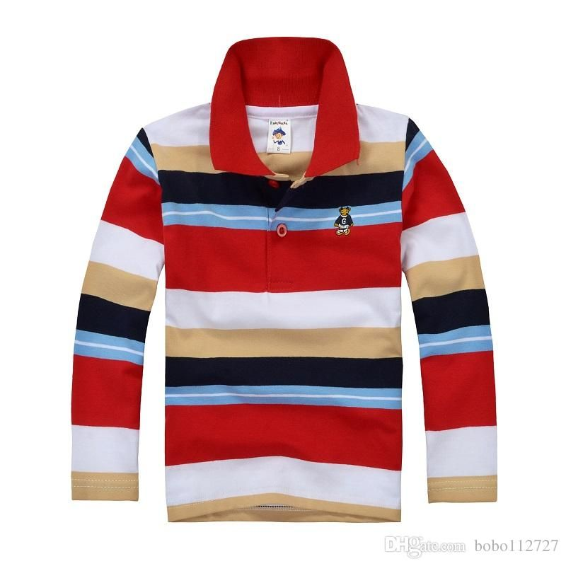 b4b1014e0 Wholesale cheap online, brand - Find best free shipping high quality boys  polo shirt children long sleeve shirt warm cotton t-shirt 2-12 years at  discount ...