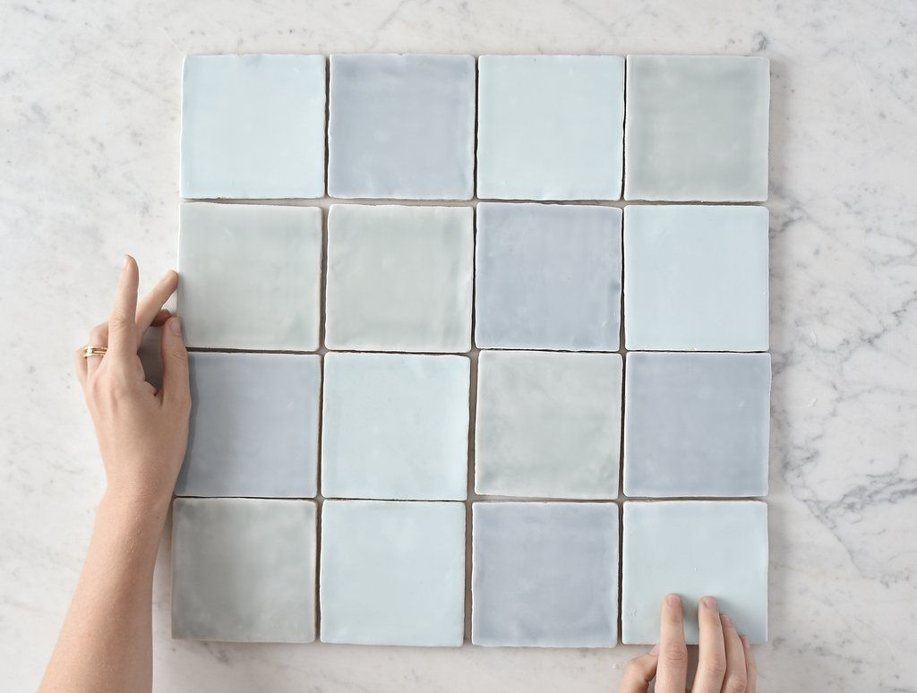 Pin By Assets Architects On 238 Porter Blue Mosaic Tile Porcelain Mosaic Tile Mosaic Tiles