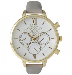 0ede2ae97b87 Ily Couture Margo Grey Watch at the most affordable price yet! Get it now  on ShopStyle