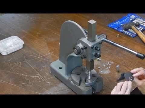▶ Make a Snap and Rivet Setter from an Arbor Press - YouTube