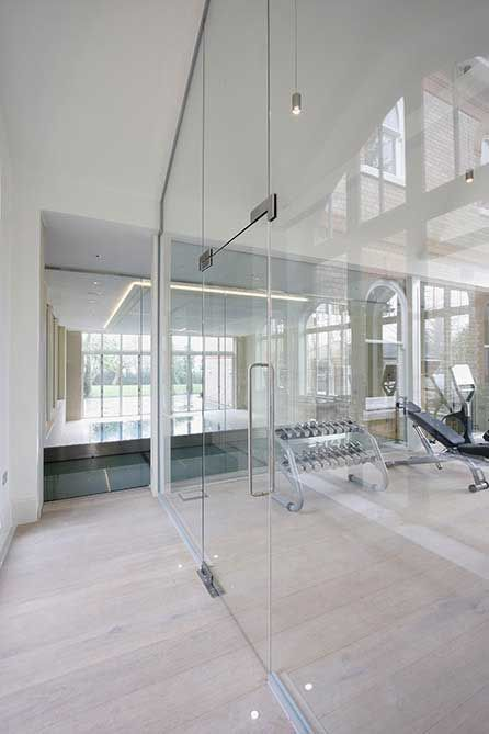 Iq Glass Frameless Interior System Internal Doors Pinterest