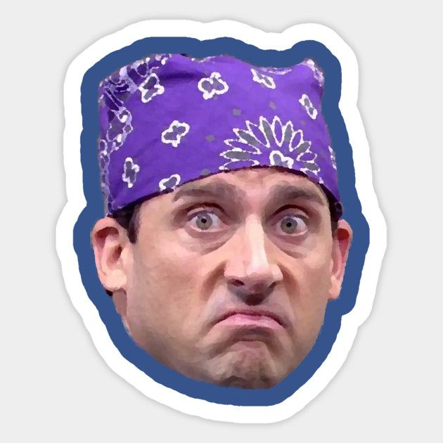 Prison Mike The Office Sticker Teepublic The Office Stickers Iphone Case Stickers Phone Stickers
