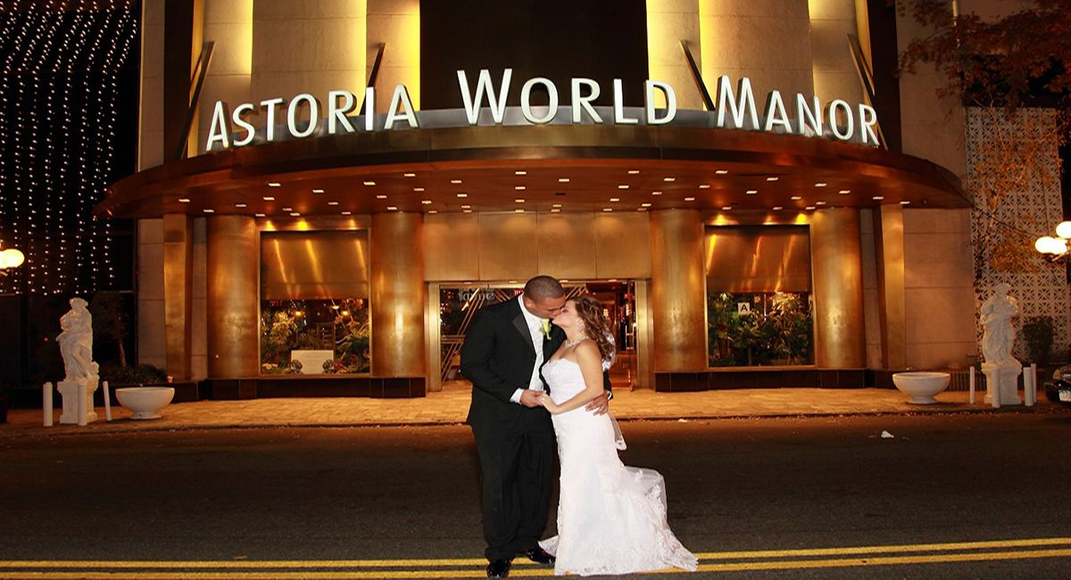 Astoria world manor is great and affordable receptions