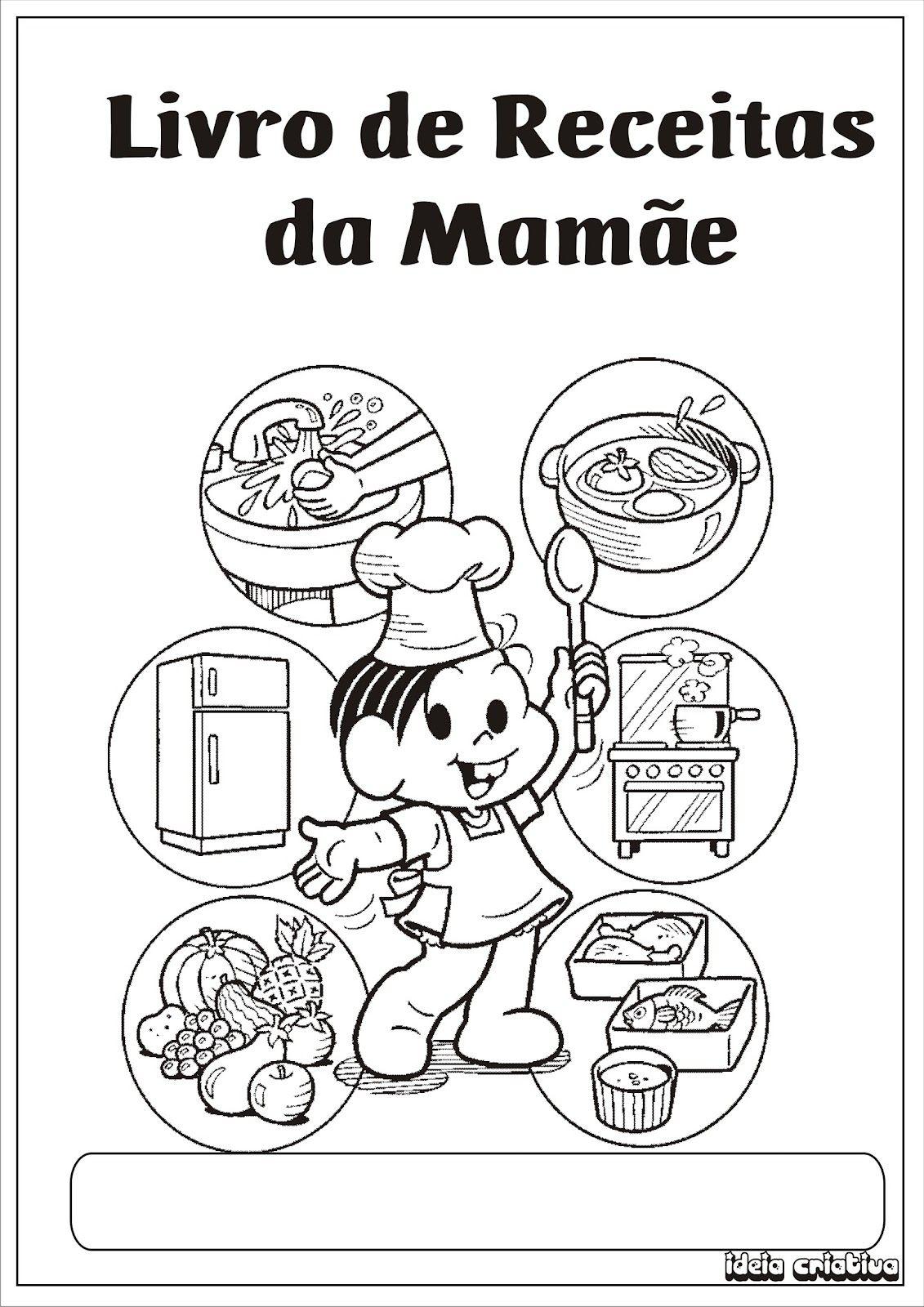 Livrinho De Receita Para O Dia Das Maes Com Imagens Livro De