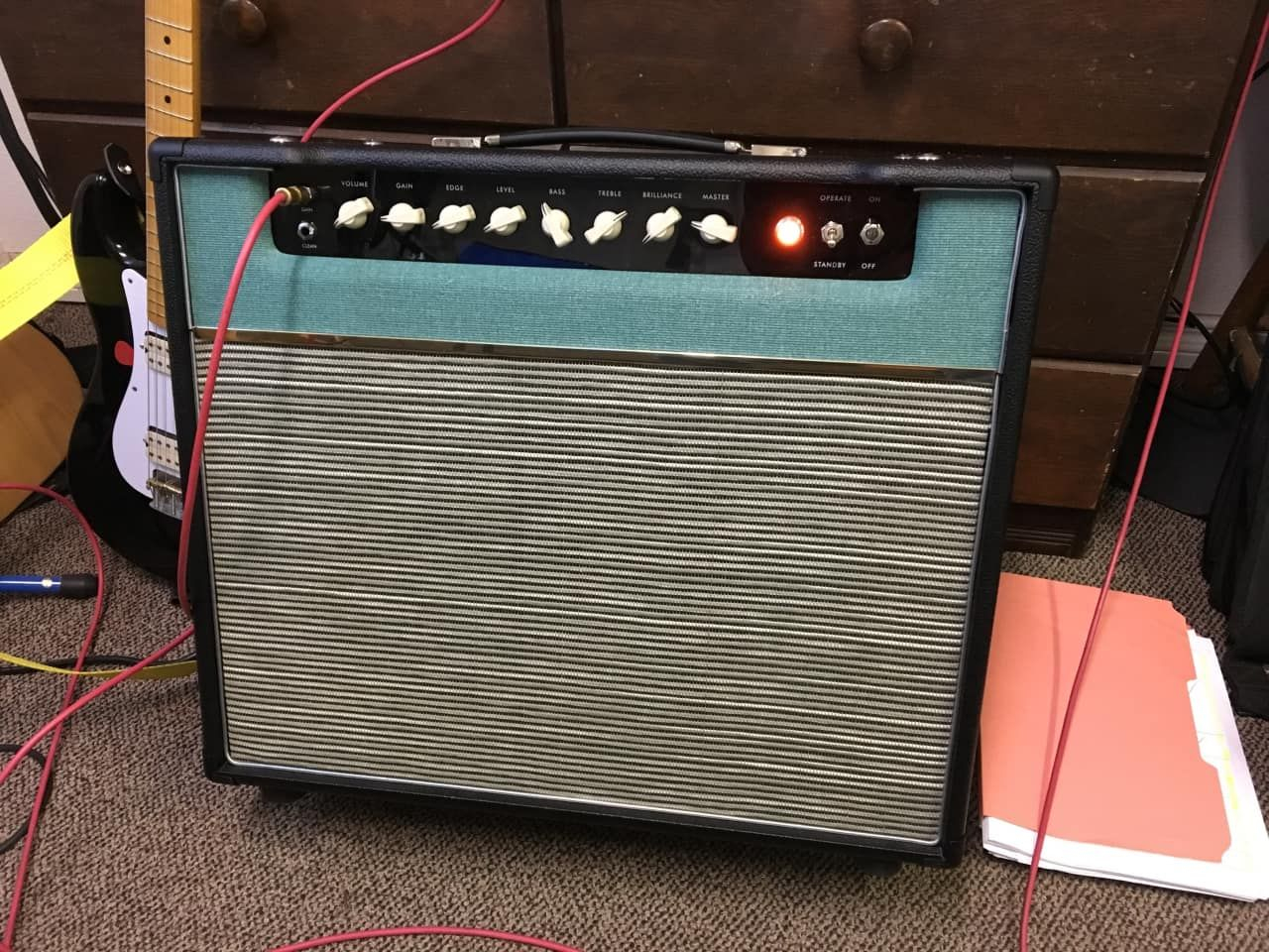 I put together this combo amp because I am a huge fan of