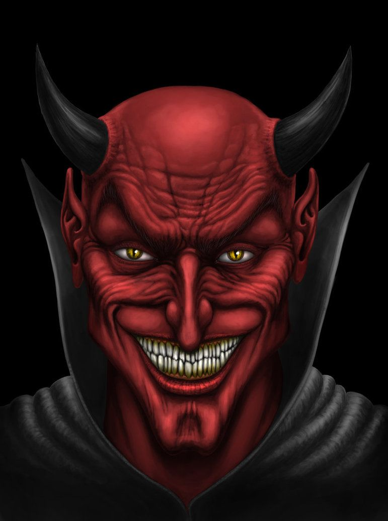 This is post #6666 for those of you keeping score at home. 'Face of the  Devil' by Andrew Dobell