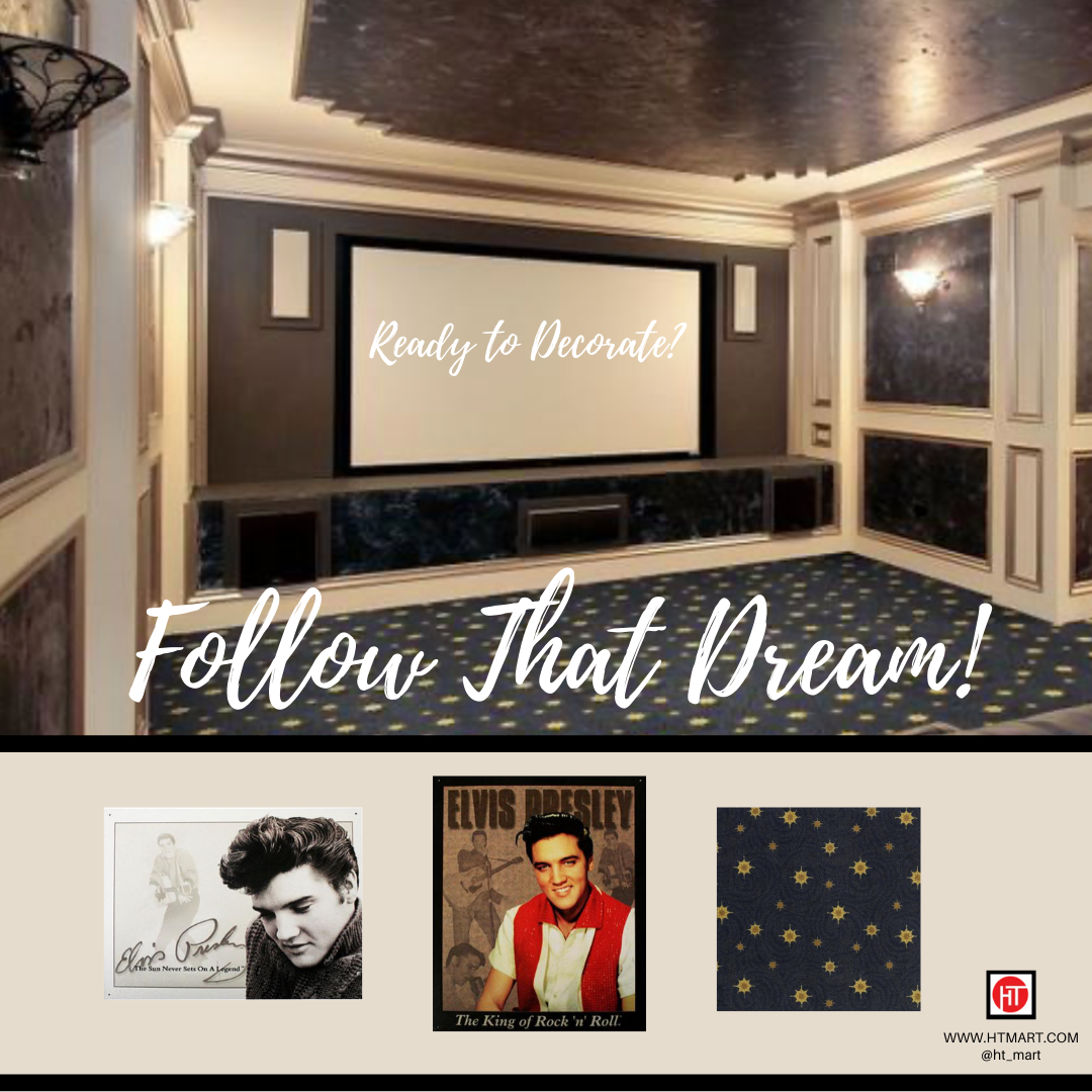 Photo of 'Follow That Dream' Home Theater!
