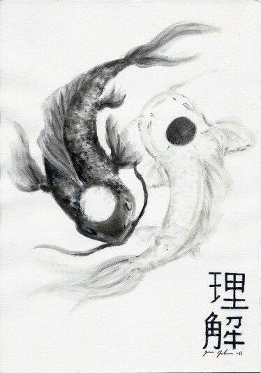 Pisces Yin Yang Yin Yang Fish Yin Yang Tattoos Yin Yang