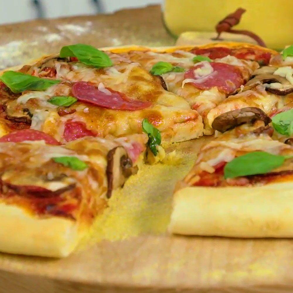 Rezept Pizzateig Selber Machen Leckere Pizza Selber Machen So