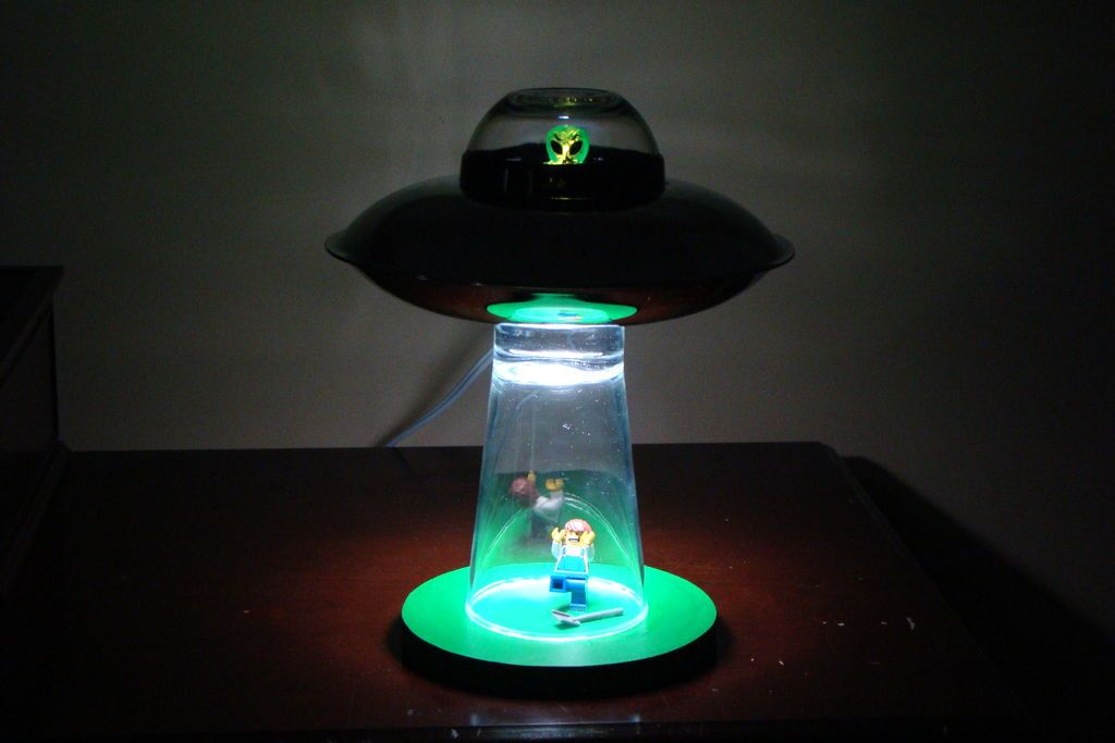 Alien Abduction Lamp Creative Lamps Space Themed Nursery Lamp
