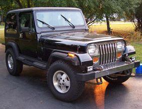 1989 jeep wrangler laredo