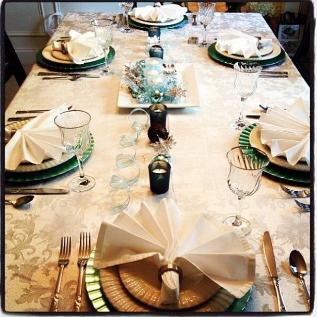 Holiday Tablescape 2012