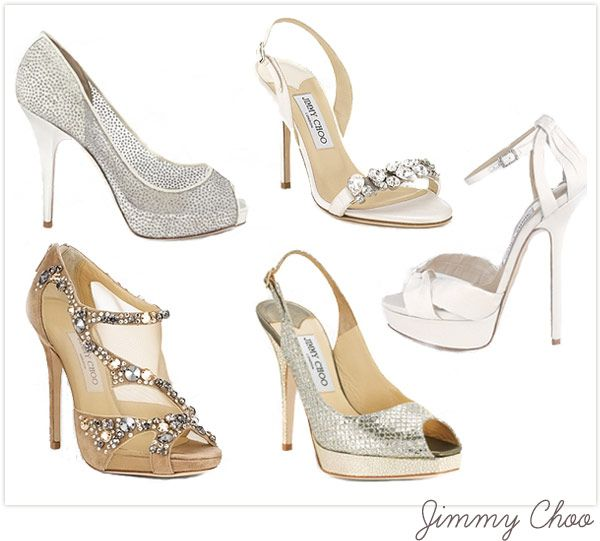 Jimmy Choo Designer Bridal Shoe Collections Go To Www Likegossip Com To Get More Gossip News Bridal Shoes Bride Shoes Fancy Shoes
