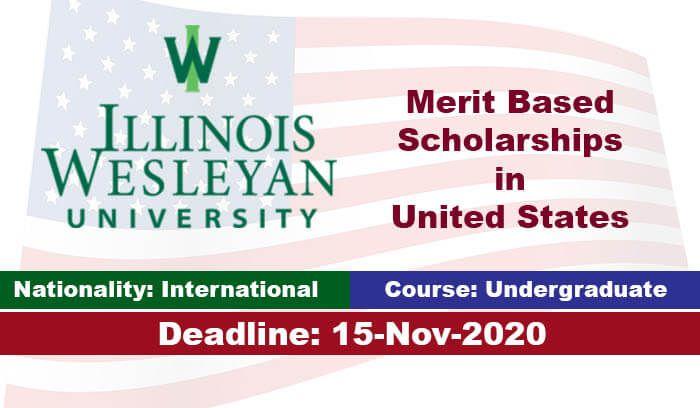 Illinois Wesleyan University Undergraduate Scholarship ...