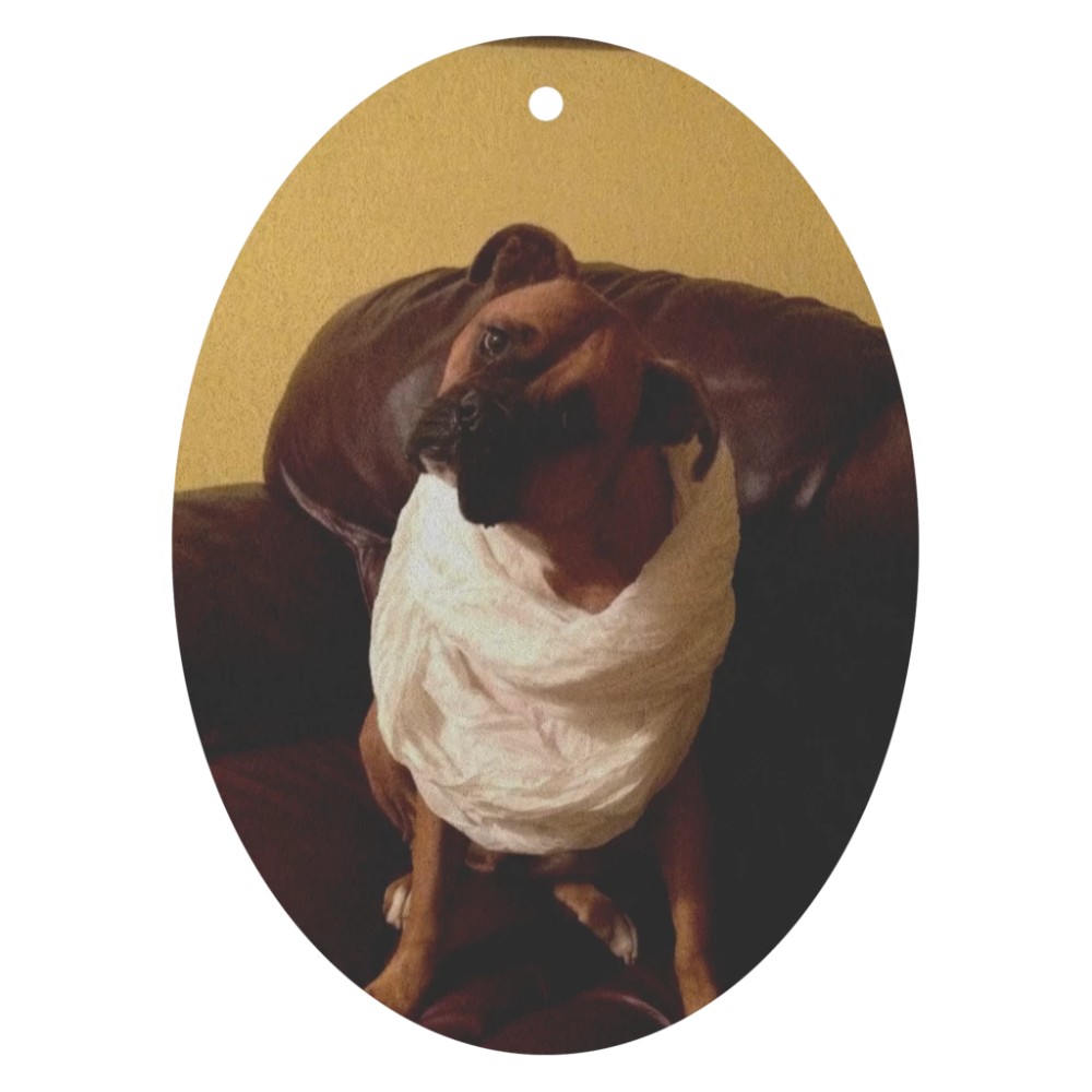 Personalized air fresheners your pet's photo summer