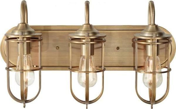 Brushed Gold Bathroom Light Fixture Brass Vanity Light Bathroom