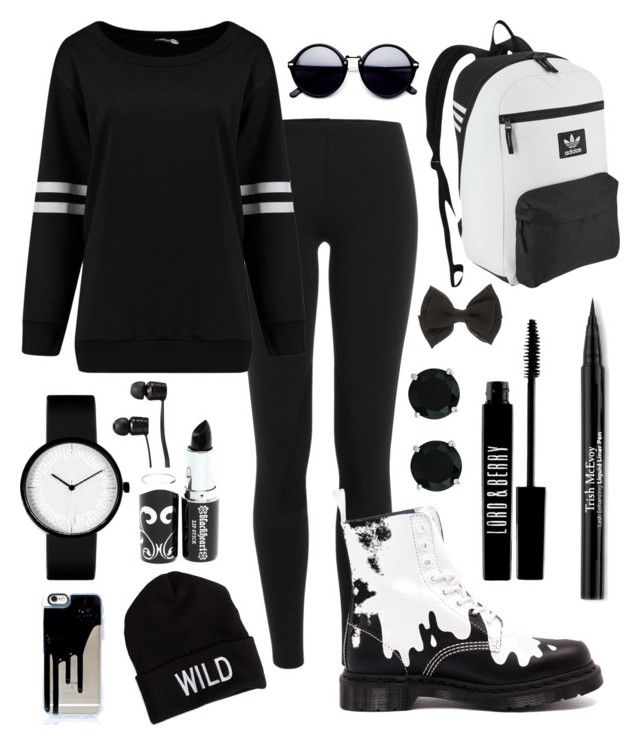 """""""Noname 10"""" by geigerk on Polyvore featuring Polo Ralph Lauren, Dr. Martens, adidas Originals, BillyTheTree, Trish McEvoy, Lord & Berry, American Eagle Outfitters and Vans"""