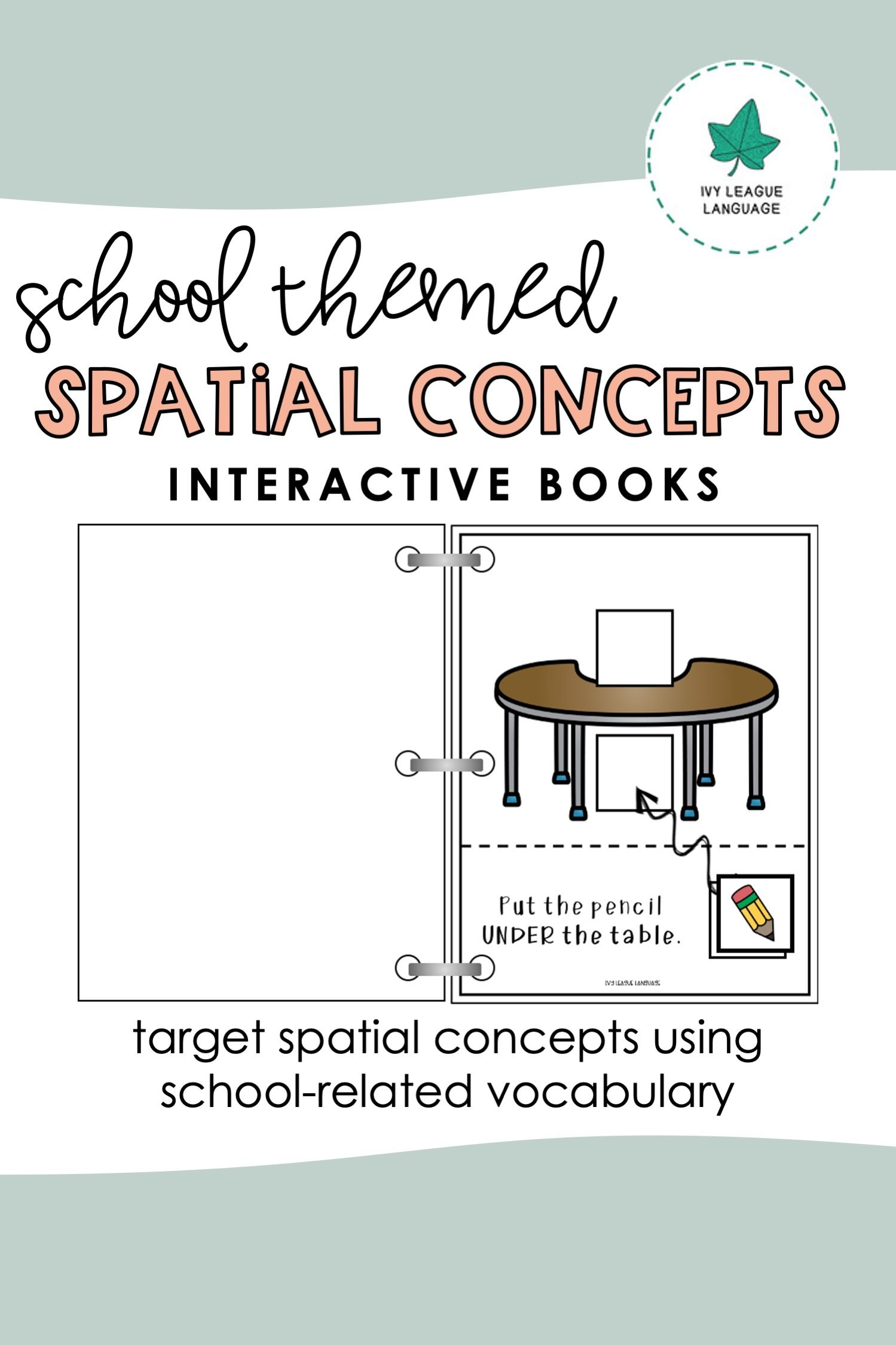 Positional Concepts Activities In 2020 Interactive Book Spatial Concepts Booklet [ 2249 x 1499 Pixel ]