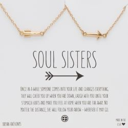 Soul Sisters Arrow Necklaces