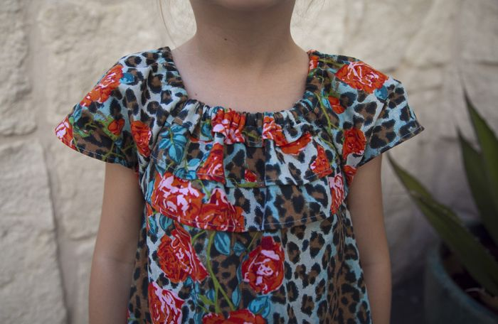 MuuMuu Easy Kid Dress Sewing Tutorial and Pattern. No zipper, no ...