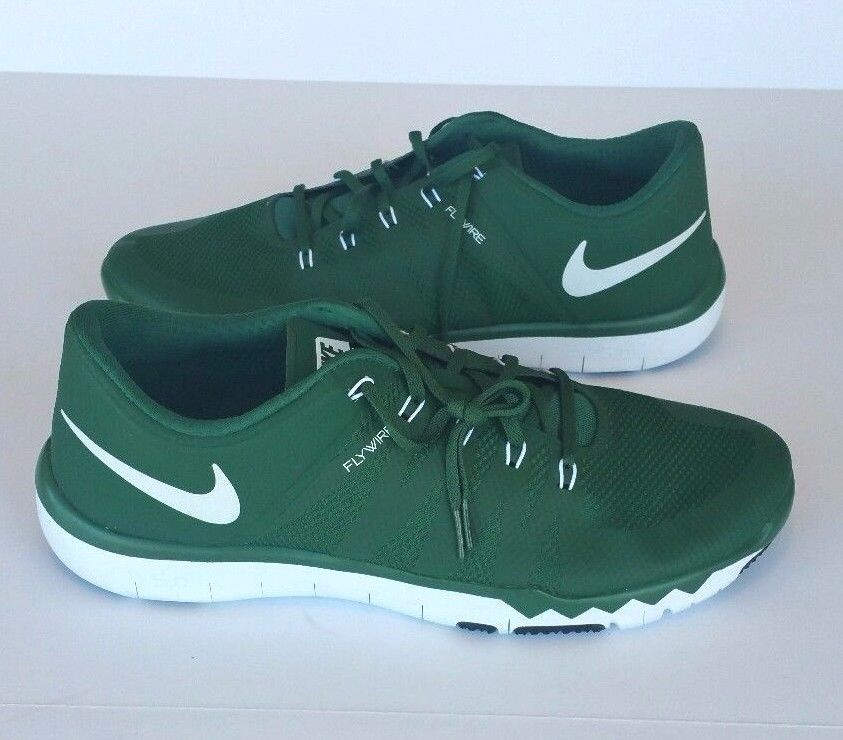 ca264119295b6 Nike Men s Free 5.0 TR Flywire Green Training Running Athletic Shoes Size  15  Nike  AthleticSneakers