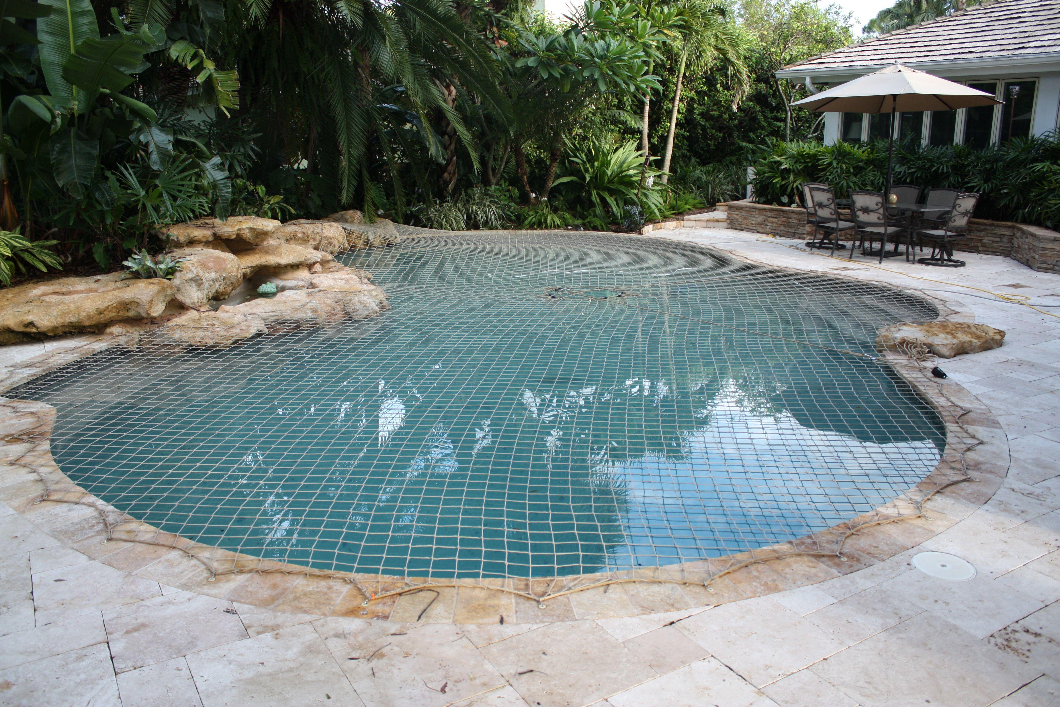 Beige Pool Net Pool Nets Pool Pool Safety Net