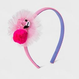 Girls' Pink Flamingo Headband Cat & Jack™ - Pink
