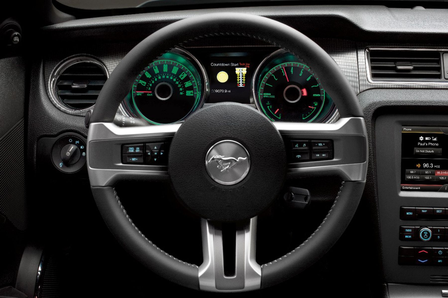 2014 Ford Mustang Gt Interior Steering Wheel Photo 16 2014 Ford