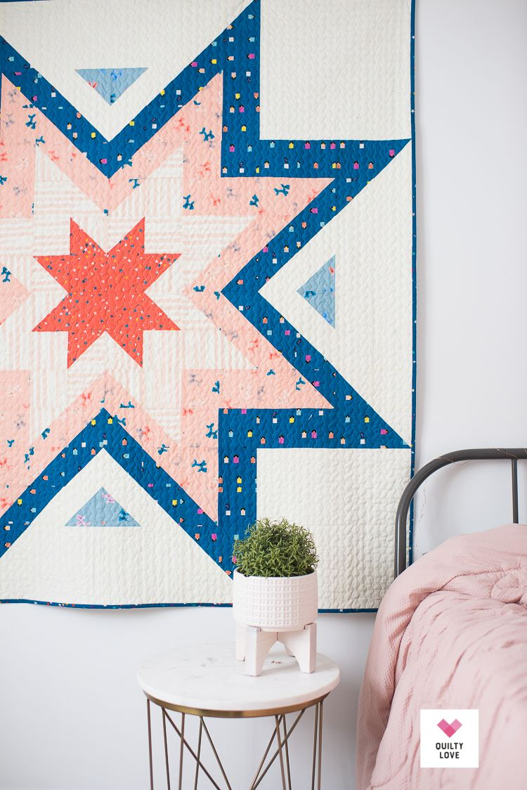 Expanding Stars Quilt The Ruby Star Society One Quilty Love Pdf Quilt Pattern Quilts Quilt Patterns