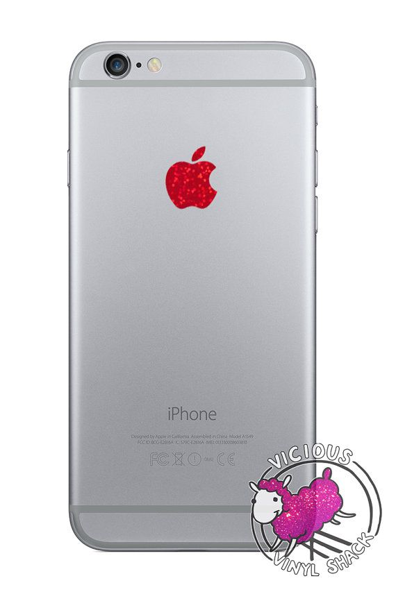 Apple Logo Color Changer for iPhone 6 6 Plus Vinyl Decal Stickers ...