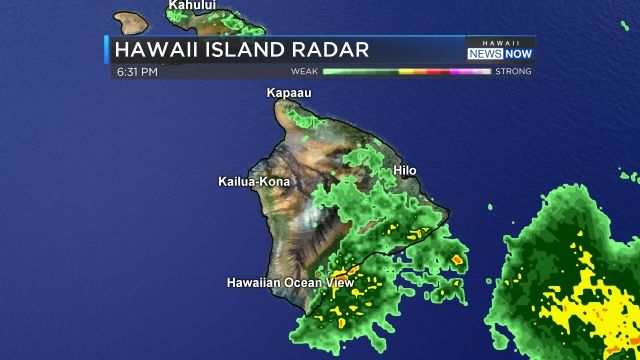 Hawaii Weather Now - Big Island Radar - Hawaii News Now ...