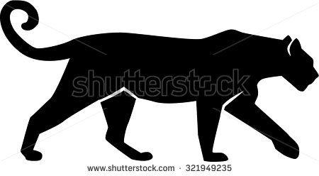 Leopard silhouette gepard panther jaguares pinterest logos astuces et a imprimer - Image leopard a imprimer ...