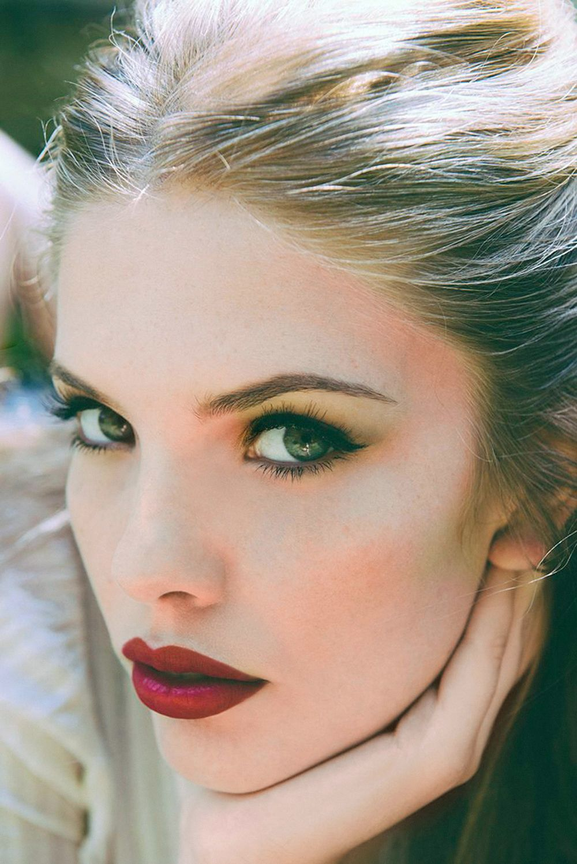 """Bodhi Rose"" by Atelier Management makeup artist, Erin Lee"
