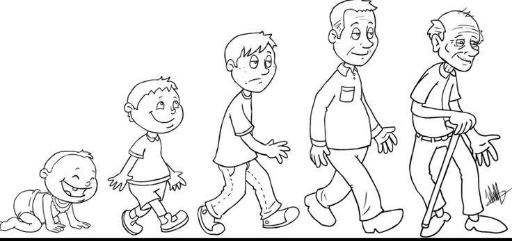 Etapas De La Vida Para Recortar Pines Buscar Con Google Human Life Cycle Mini Canvas Art Preschool Themes