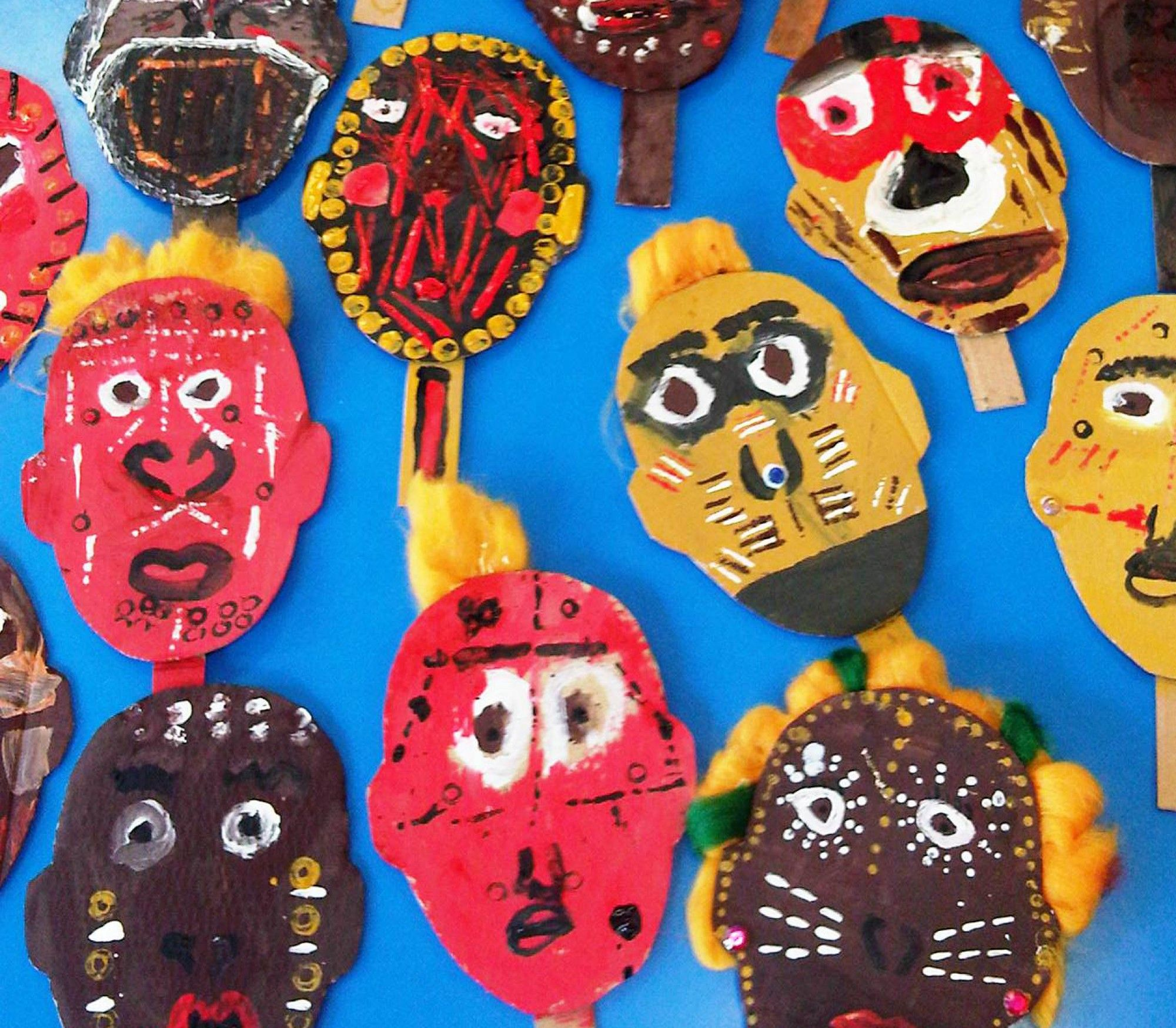 African Masks I Love African Art And Design And The Use Of