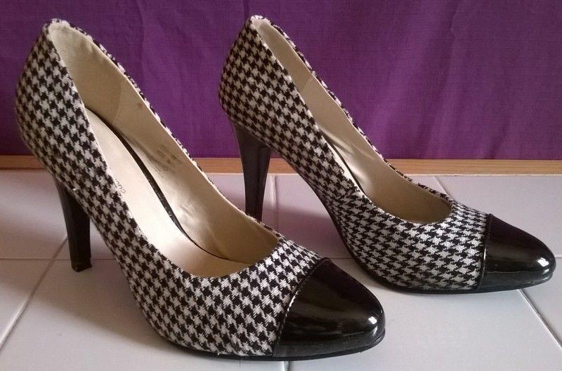 Femme Pour 39 Mode Retro Escarpin Chaussures Pointure hdCstQr