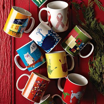 Modern Furniture Home Decor Home Accessories West Elm Charity Mugs Christmas Gift Guide