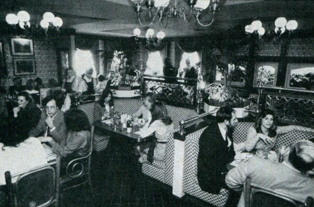 Society Hill Restaurant in Morristown NJ 1982 | Vintage