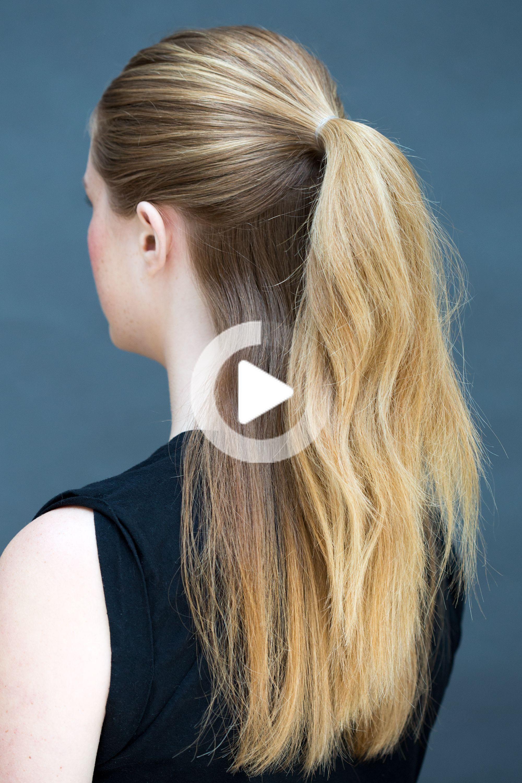 Leuke Kapsels Snel En Eenvoudig Bob In 2020 Diy Hairstyles Quick Hairstyles Cute Hairstyles