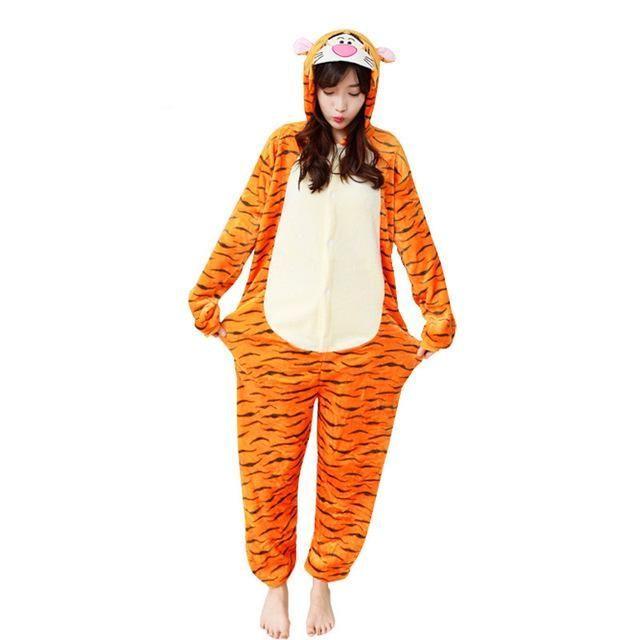28 New Soft Adult Pajamas Onesie Unisex Animal Cosplay Women Men Flannel Panda Unicorn Pegasus Sleepwear Winter Cartoon Pyjamas  28 New Soft Adult Pajamas Onesie Unisex A...