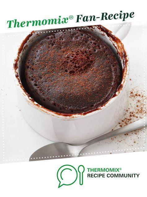 Molten Chocolate Lava Mug Cake   Recipe   Thermomix ...