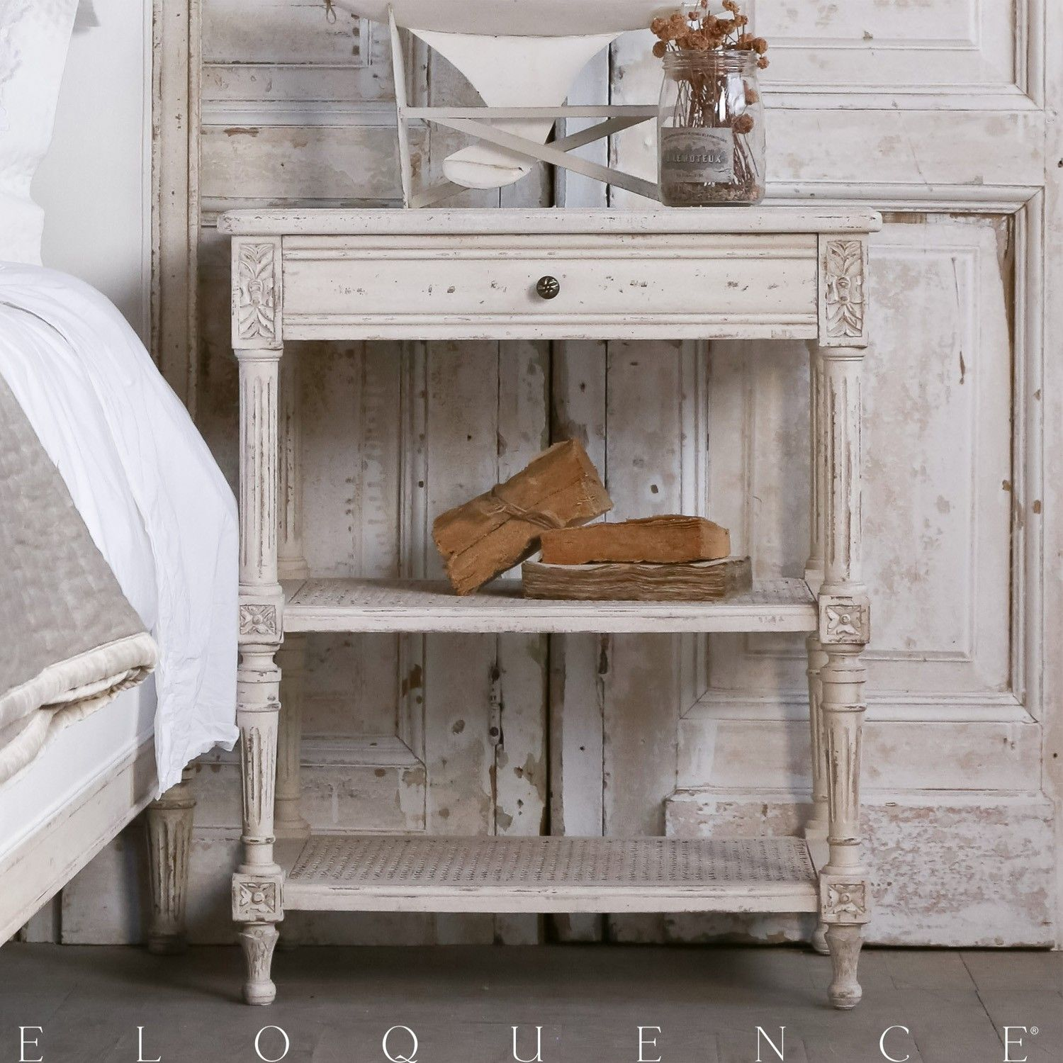 Eloquence® Napoleon Nightstand in Louis XVI Style